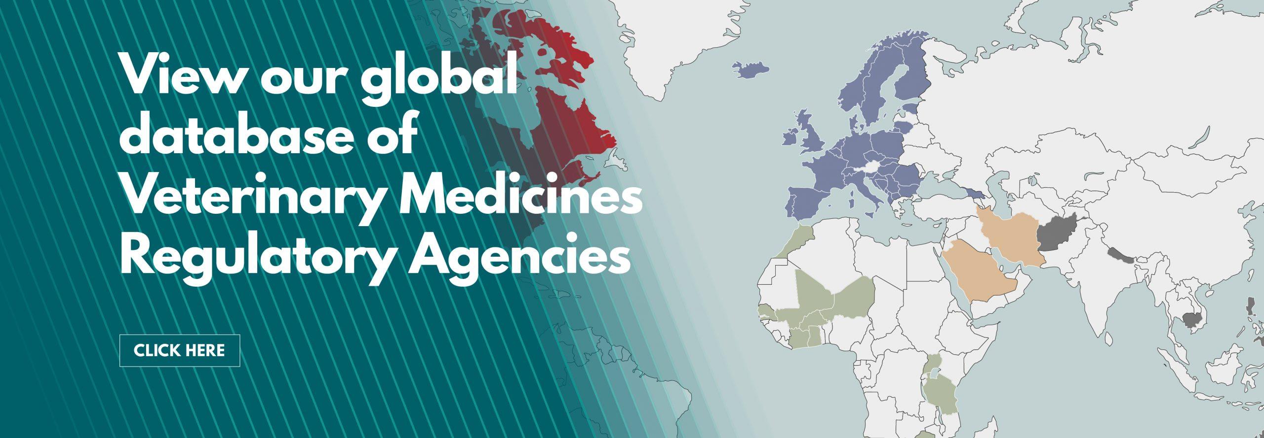 Global database of Veterinary Medicines Regulatory Agencies